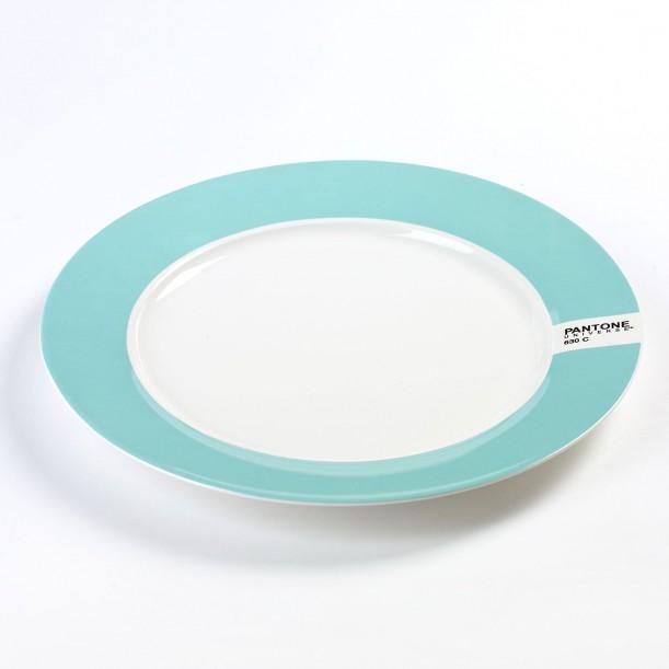 Grande Assiette Plate Pantone Bleu Pâle 630C Diam 30 cm Serax