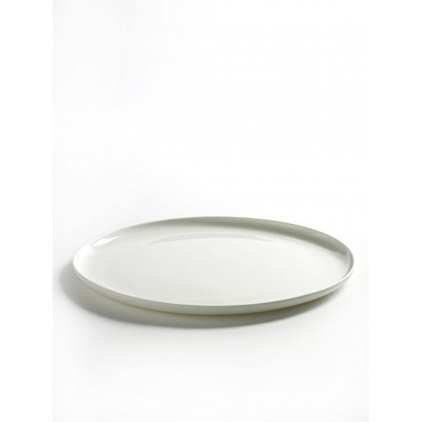Assiette Plate Blanche XL Diam 28 Base de Serax
