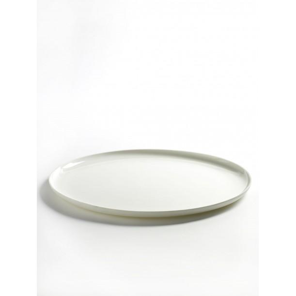 Assiette Plate Blanche XXL Diam 32 Base de Serax