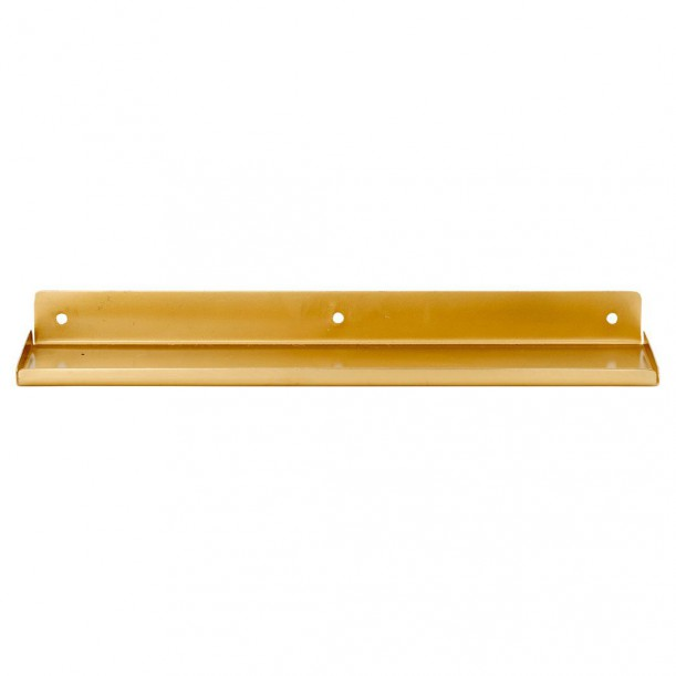 Shelf Ledge Brass 43 x 11.5 cm House Doctor