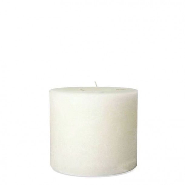 Super White Indoor Candle Diam 15 x 14 cm