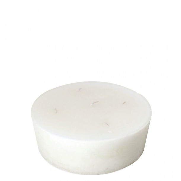 Super White Indoor Candle Diam 23 x 7 cm