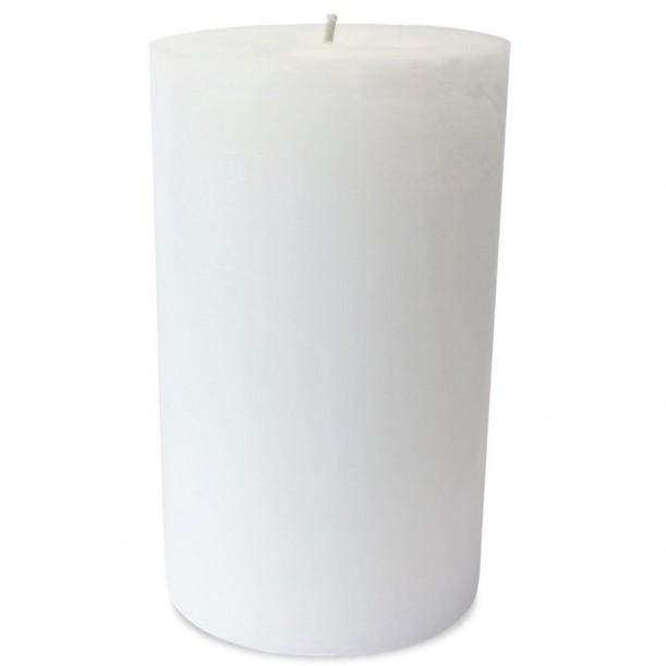 Super White Outdoor Candle Diam 23 x 40 cm