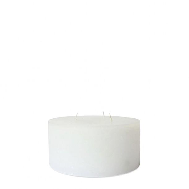 Super White Indoor Candle Diam 15 x 7 cm