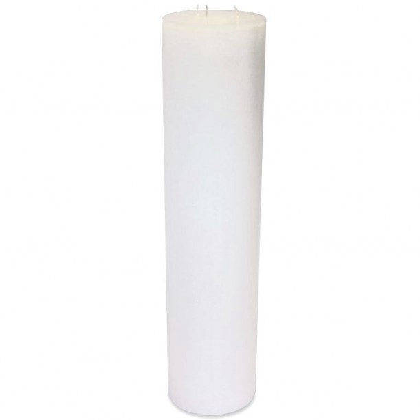 Super White Indoor Candle Diam 15 x 65 cm