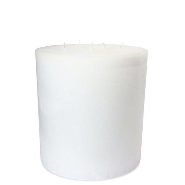 Super White Indoor Candle Diam 23 x 25 cm