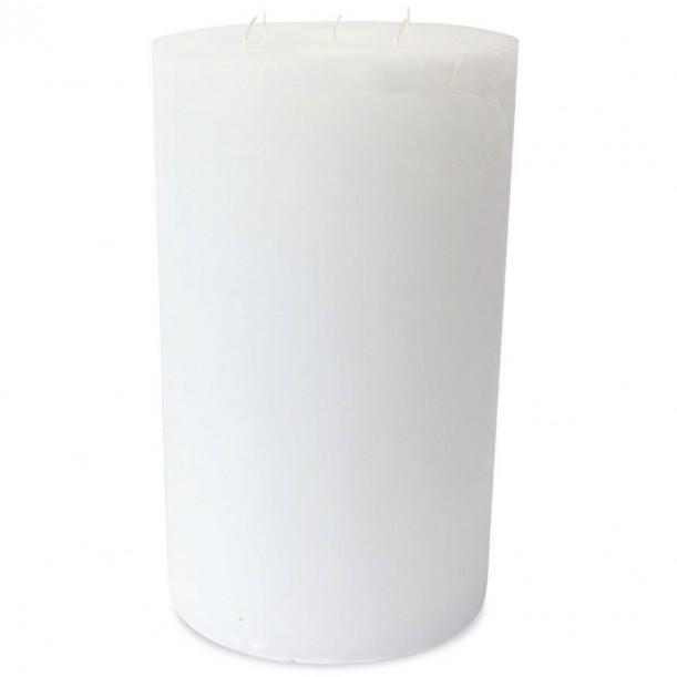 Super White Indoor Candle Diam 23 x 40 cm