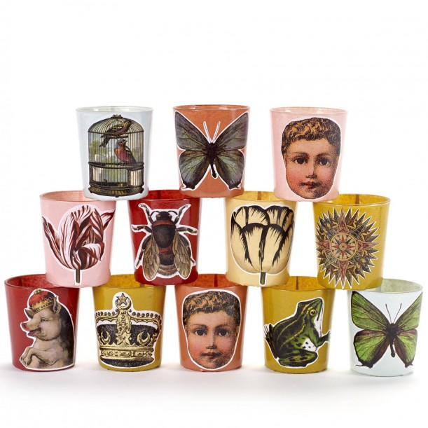 12 Candle Jars Carnaval Serax