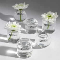 6 Mini Vases Soliflores Verre Transparent Serax