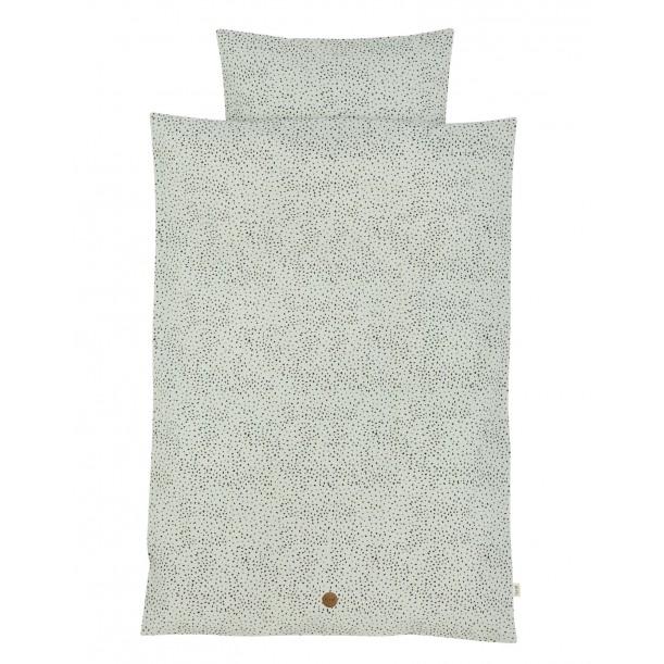 Parure de Lit Mini Dot 140 x 200 cm Housse de Couette et Taie Ferm Living