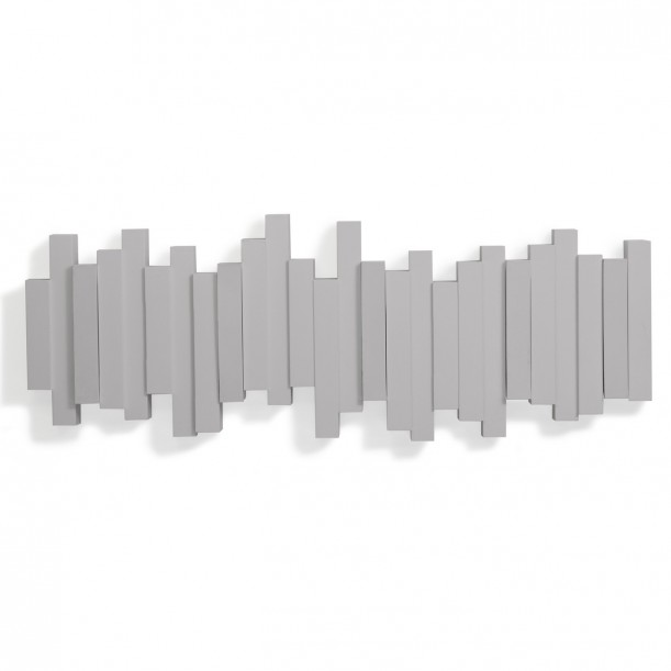 Multi Hook Grey Sticks Umbra
