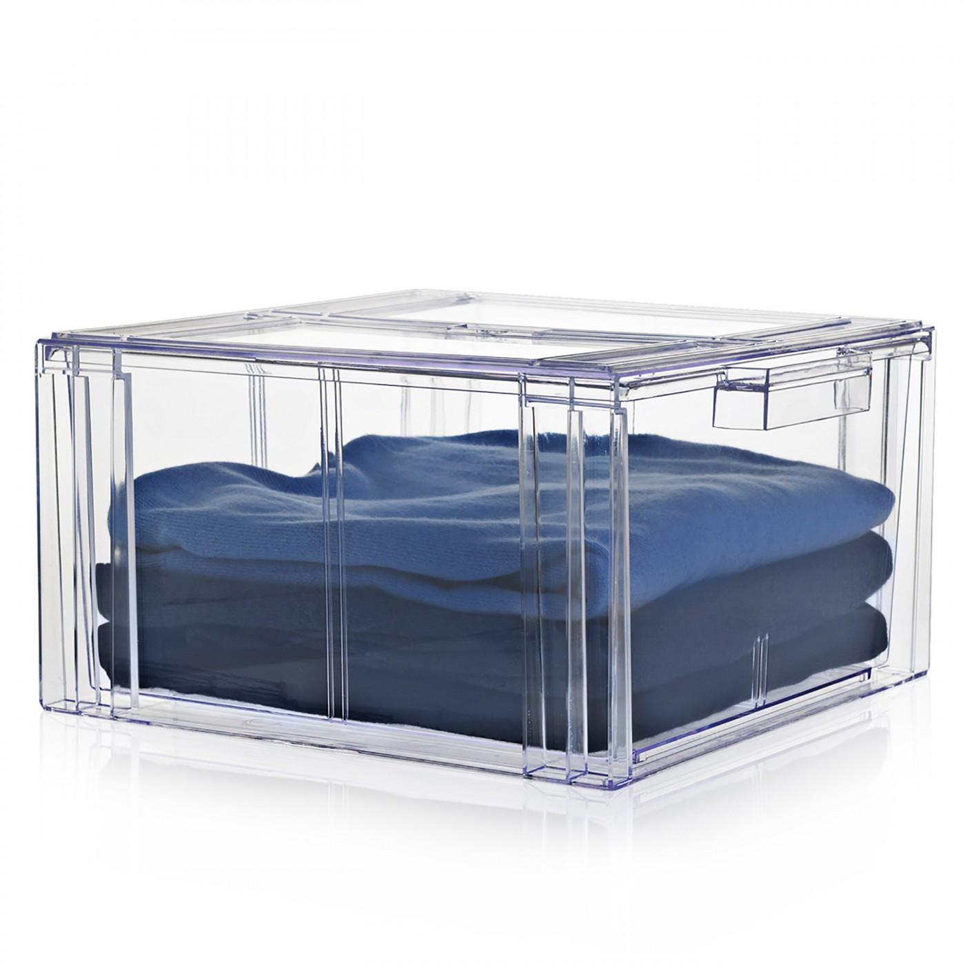 boite de rangement transparente a tiroir clear drawer n 4 nomess copenhagen