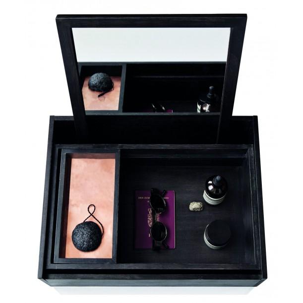 Boite à Bijoux Maquillage Coiffeuse Balsabox Noir Nomess Copenhagen