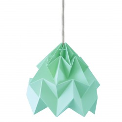 Moth Origami Pendant Ice Mint Diam 20 cm Snowpuppe