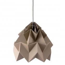 Moth Origami Pendant Brown Diam 20 cm Snowpuppe