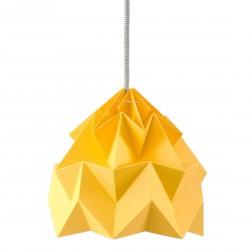 Moth Origami Pendant Gold Yellow Diam 20 cm Snowpuppe