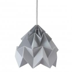 Petite Suspension Origami Moth Grise Diam 20 cm Snowpuppe