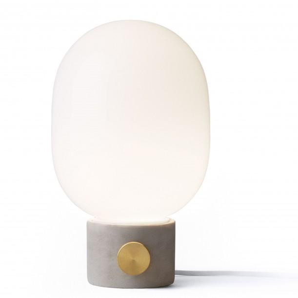 Table Lamp JWDA Concrete Grey and Brass Menu