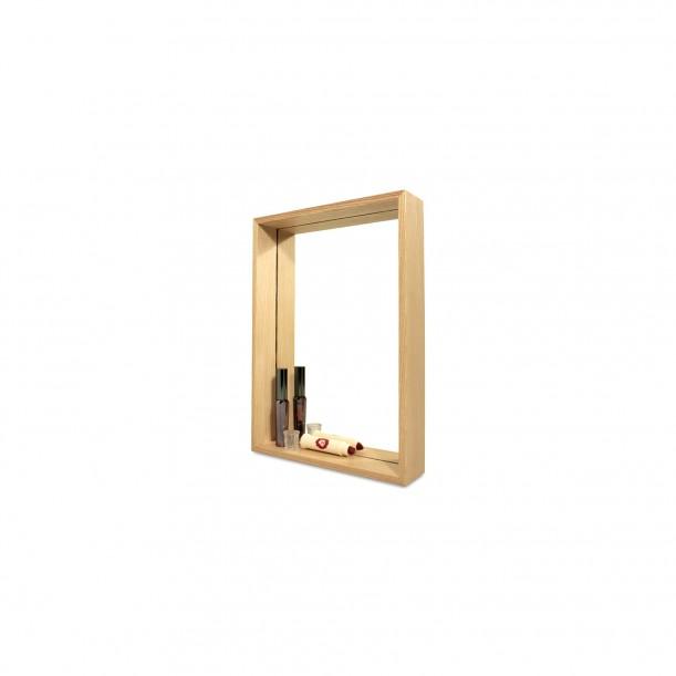 Miroir Etagère Deep 1 Long 35 x 25 cm Archiv Collection