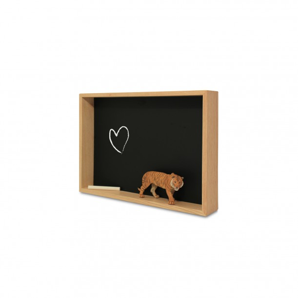 Blackboard Shelf Deep 1 L 35 x 25 cm Archiv Collection