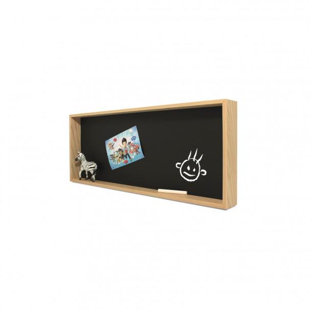 Blackboard Shelf Deep 2 L 60 x 25 cm Archiv Collection