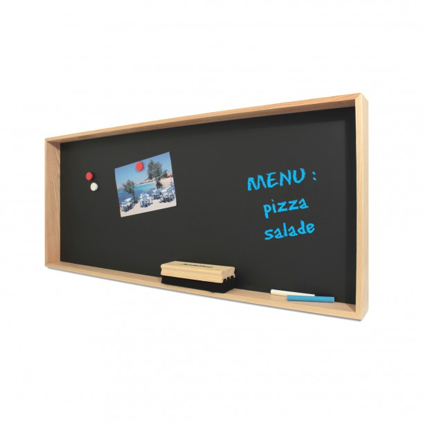 Blackboard Shelf Deep 3 L 80 x 35 cm Archiv Collection