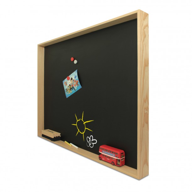 Blackboard Shelf Deep 4 L 80 x 35 cm Archiv Collection