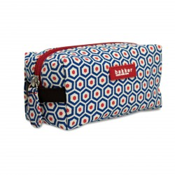 Small Cosmetic Bag Kubus Printed Canvas Bakker