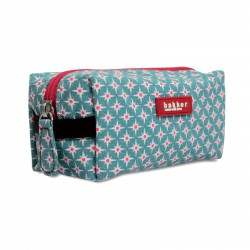 Small Cosmetic Bag Stars Printed Canvas Bakker