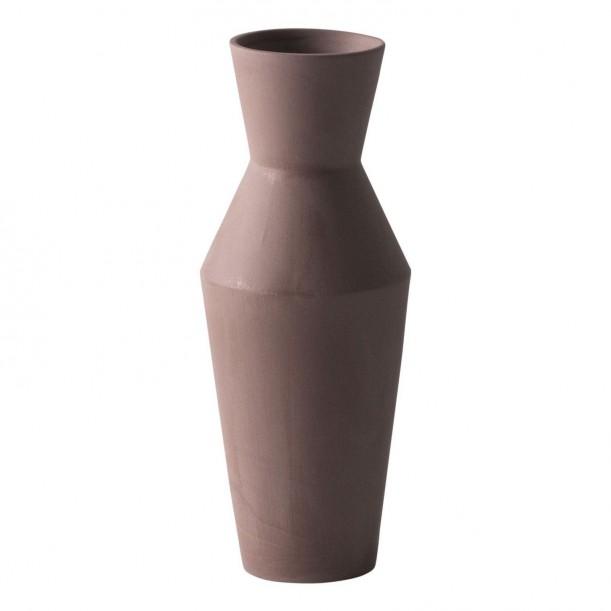Vase Sculpt Corset Rust Diam 10 x H 25 cm Ferm Living