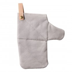 Canvas Oven Mitt Grey Ferm Living