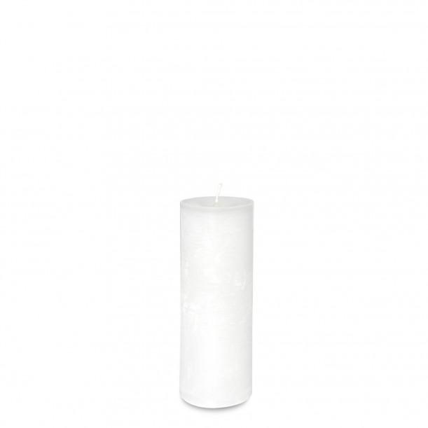 White Candle Diam 5,7 x 15 cm