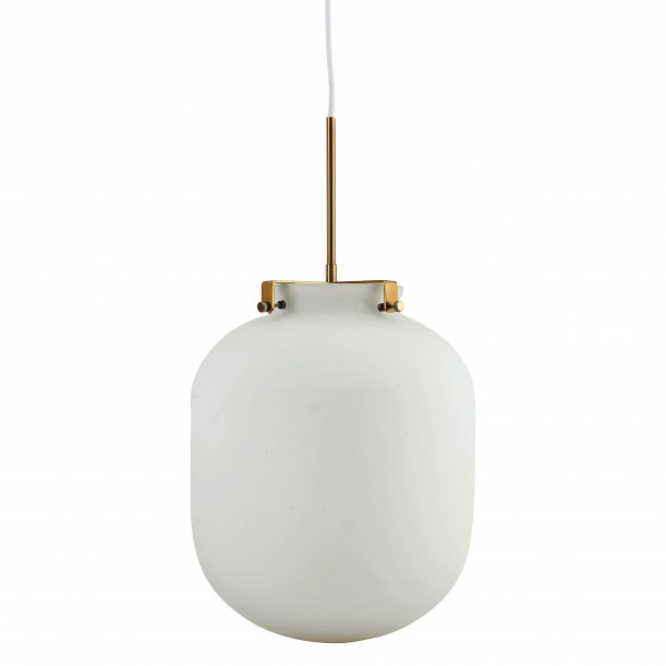 Lampe Suspension Ball Blanche Diam 30 cm House Doctor