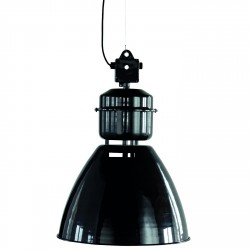 Lampe Suspension Industrielle Volumen Noir Diam 54 cm House Doctor