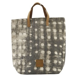 Sac Cabas Dots Gris 41 x 38 cm House Doctor