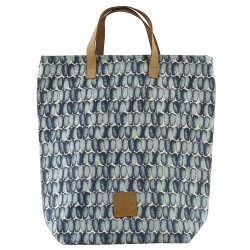 Sac Cabas Braid Bleu 41 x 38 cm House Doctor