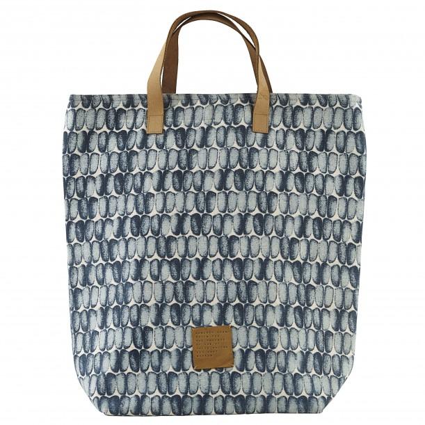 Shopping Bag Braid Blue 41 x 38 cm House Doctor