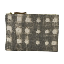 Cosmetic Bag Dots Grey 23 x 16 cm House Doctor