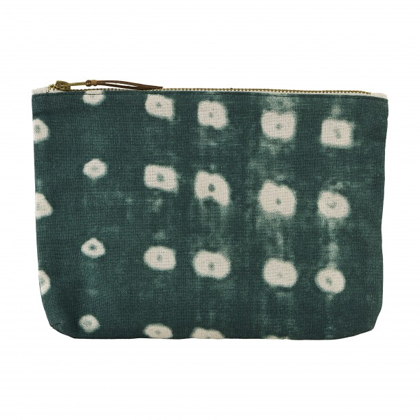 Cosmetic Bag Dots Green 23 x 16 cm House Doctor