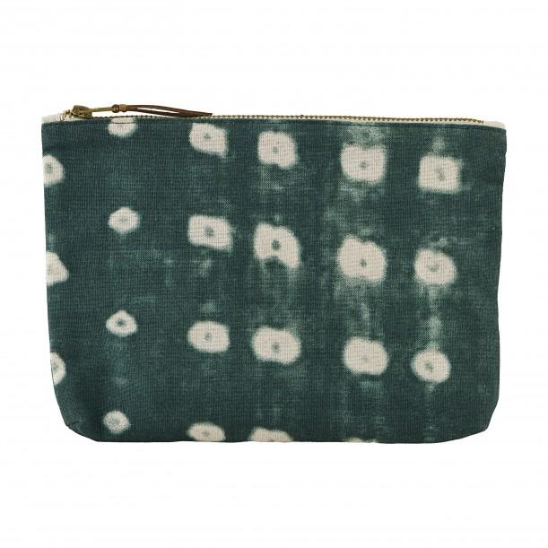 Pochette Dots Vert 23 x 16 cm House Doctor