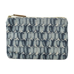Cosmetic Bag Braid Blue 23 x 16 cm House Doctor