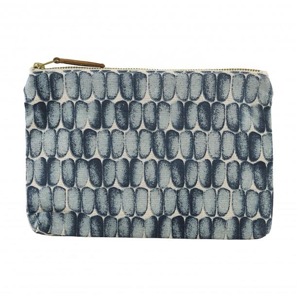 Cosmetic Bag Braid Blue 23 x 16 cm House Doctor