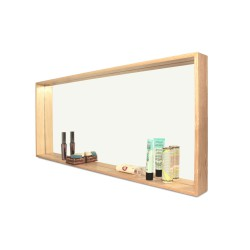 Mirror Shelf Deep L 80 x 35 cm Archiv Collection
