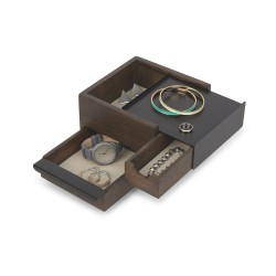 Mini Stowit Black Jewelry Box Umbra