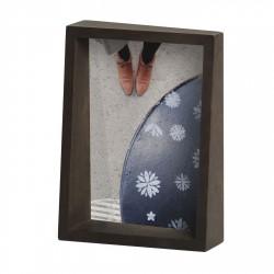Cadre Edge Noyer pour Photo 13 x 18 cm Umbra