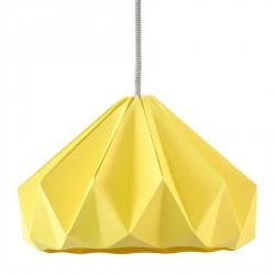 Suspension Origami Chesnut Jaune Automne Diam 28 cm Snowpuppe