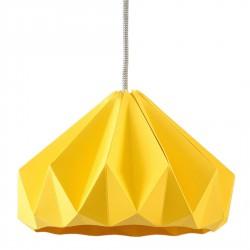Chesnut Origami Pendant Gold Yellow Diam 28 cm Snowpuppe