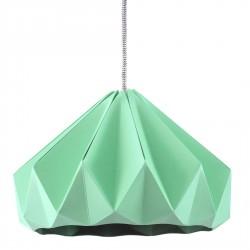 Suspension Origami Chesnut Menthe Diam 28 cm Snowpuppe