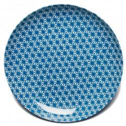 Assiette X Turquoise