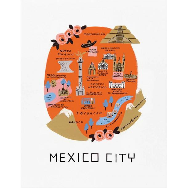 Affiche Mexico Rifle Paper